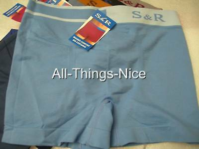 MENS UNDERWEAR Seamless 12pr BOXER Shorts WHOLESALE M