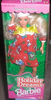 Holiday Dreams Barbie Doll Christmas Special 1994