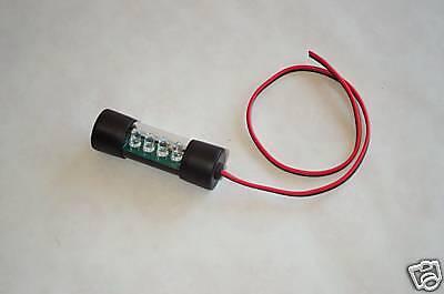 Led Light Tube - 12 Volt 2-1/2 Inch Tube 12v Orange