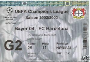 TICKET CL Bayer Leverkusen Germany FC Barcelona Spain - Poznan, Polska - TICKET CL Bayer Leverkusen Germany FC Barcelona Spain - Poznan, Polska