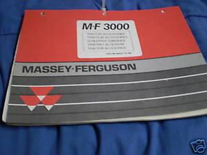 massey ferguson 35 parts manual