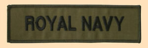 NEW-Royal-Navy-jacket-shirt-title-subdued-olive-badge