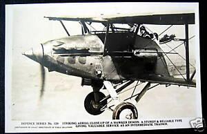 **1930's HAWKER DEMON BI-PLANE ROYAL AIR FORCE~ RPPC