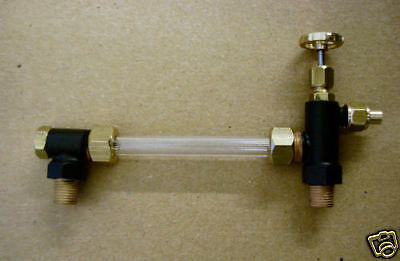 1/4 x 32 5mm glass water gauge. Live Steam