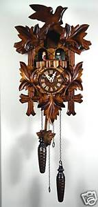 NEW GENUINE BLACK FOREST CUCKOO CLOCK music model