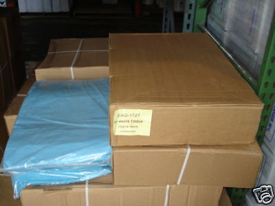 1 CASE 10 REAMS PREMIUM BLUE TISSUE PAPER (4,800 SHEETS) PACKING STUFFING