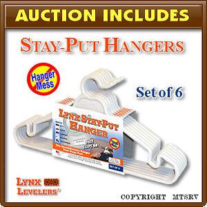 LYNX-Stay-Put-Clothes-Hangers-6-pk-RV-Trailer-Closet