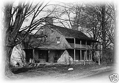 Dutch Colonial house plans, detailed blueprints, American antique home style