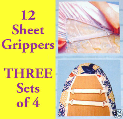 LOT 12 Sheet Gripper Holder Fastener Elastic ...