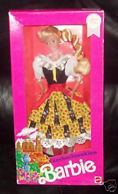 1990 Rare Dotw Czechoslovakian Barbie