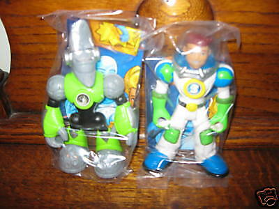 Fisher Price Planet Heroes Ace Earth Lunar Moon Rescue NEW in bag Boy set lot