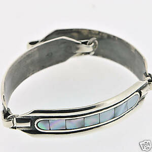 925-Silver-Handmade-Mother-of-Pearl-Elegant-Bracelet