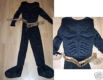 Boy's Size Medium 7 8 10 Batman The Dark Knight Bat Man Halloween Costume Belt