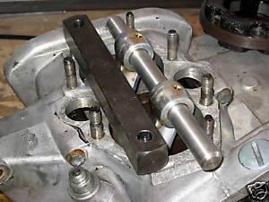 Triumph engine piston crank stop tool 500 650 750 twins