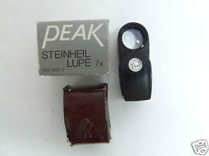NEW MADE IN JAPAN PEAK STEINHEIL LUPE 7x NO. 1985-7
