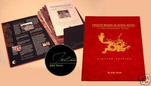 Twelve Weeks in Hong Kong, Bruce Lee, Enter the Dragon Signed by John Saxon