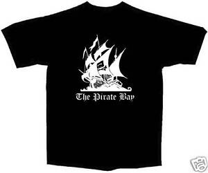 New-pirate-bay-tee-piratebay-t-shirt-Small-through-5X