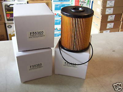 DODGE CUMMINS 5.9 DIESEL FUEL FILTERS 2000-2008 (6)