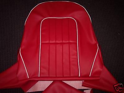 Soft Vinyl Austin Healey Sprite Mg Midget Seat Covers Ebay