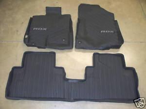 2009 2012 Acura Rdx Black All Season Winter Weather Rubber