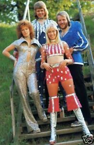 Abba Fantastic New Stairs 10x8 Photo