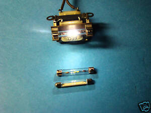 FISHER-6-3-VAC-WHITE-FUSE-LAMPS-42MM-LONG-2PK-SET