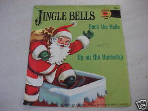 Golden-Childrens-Record-JINGLE-BELLS-UP-ON-HOUSETOP