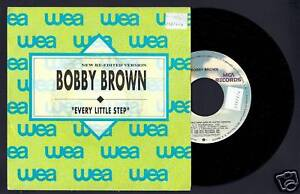 BOBBY-BROWN-EVERY-LITTLE-STEP-SPAIN-PROMO-7-034-1989-Single-Vinyl-45rpm
