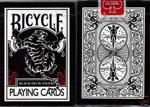 BICYCLE-BLACK-TIGER-WITH-RED-PIPS-PLAYING-CARDS