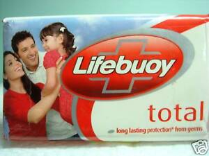 4 x Lifebuoy Soap 120 gram Bars XXL