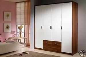 modern european bedroom closet wardrobe clothes armoire ebay