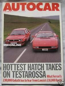 AUTOCAR-27-7-1988-featuring-Lancia-Delta-Integrale-Ferrari-Testarossa-Mercedes