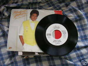 Single Pop Michael Jackson Human Nature PROMO CBS