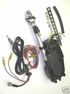 Adjustable-0-to-30-angle-Chrome-Automatic-Electric-Aerial-Power-antenna