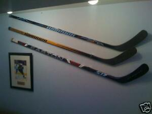 3-PACK-Hockey-Stick-Display-Holder-Hanger-Mount-Bracket
