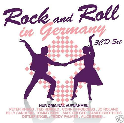 Rock And Roll In Germany   - Various (3CDs)
