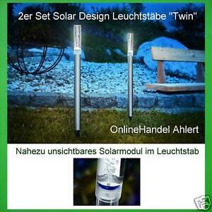 2x-LED-SOLARE-solarstabe-lampade-da-giardino-acciaio-inox-lume