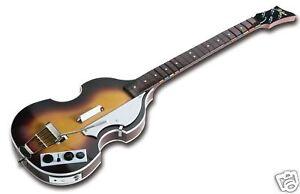 new xbox 360 the beatles rock band hofner bass guitar paul mccartney ebay. Black Bedroom Furniture Sets. Home Design Ideas