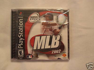 Mlb 2002 (playstation Ps1) Brand New, Sealed