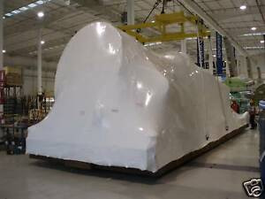Boat, Marine, Construction Shrink Wrap 20' W X Footage? White