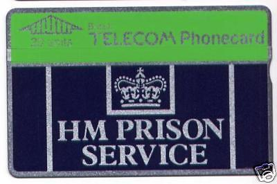 HM Prison Service Collectable BT Phonecard
