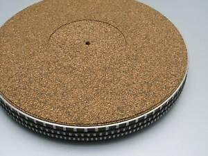 Garrard-401-rega-thorens-etc-293mm-liege-platine-tapis-de-xad