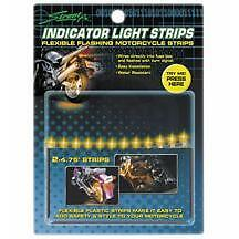 Street Fx Motorcycle Indicator Led Flash Glow Yellow Light Strips