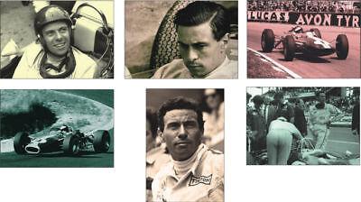Jim Clark F1 Champion Formula One POSTCARD Set
