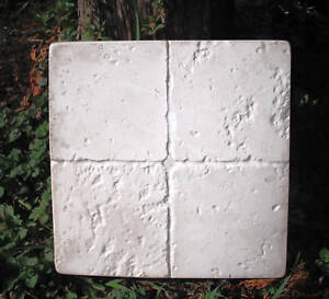 Tuscan travertine stepping stone poly plastic mold 2 for 2 thick granite