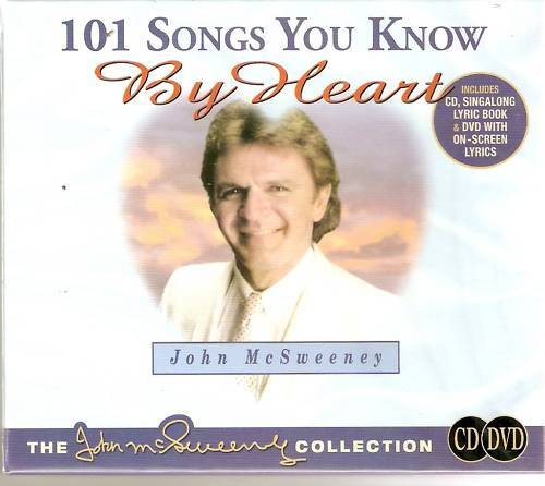 101 SONGS YOU KNOW BY HEART JOHN McSWEENEY CD & DVD