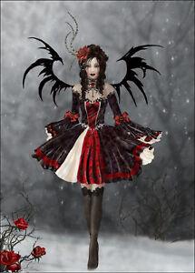 Nene Thomas SIGNED Print Gothic Princess 8.5x12 GICLEE