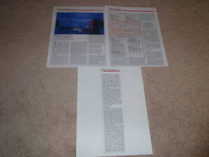 Nakamichi SR-3a Receiver Review, 3 pgs, 1986, Full test