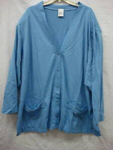 NWOT-Womens-Hanes-Just-My-Size-Lounge-Jackets-Size-5X
