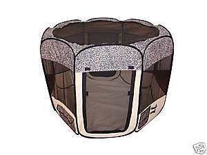 Pet-Dog-Cat-Tent-Puppy-Playpen-Exercise-Play-Pen-Crate